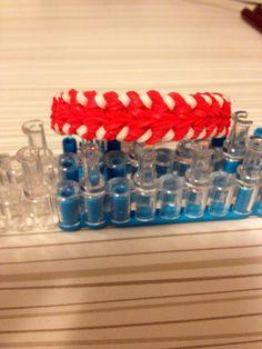 Baseball Stitch Bracelet by Justin's Toys.