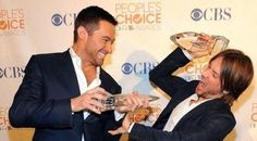 Hugh with Keith