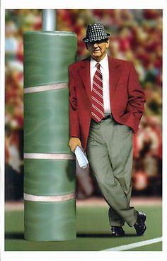 BEAR BRYANT one of the best coaches ever (and I'm an Auburn fan)