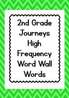All 300 high frequency words for a word wall for FREE!!!