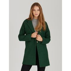 Our model wears a size M and is 171 cm tall. Green Coat, Drop, Shoulder, Model, Sweaters, Campaign, Jackets, How To Wear, Fashion