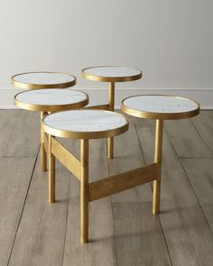 """Circles"" Coffee Table - Horchow"