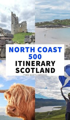 [Free] North Coast 500 itinerary and tips created by a Scot. Road trip Scotland's answer to Route 66 with this comprehensive travel guide. Scotland Travel Guide, Scotland Road Trip, Road Trip Europe, Europe Travel Guide, Europe Destinations, Ireland Travel, Travel Tips, Travel Ideas, Route 66