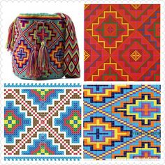 Tapestry Crochet Patterns, Bead Embroidery Patterns, Crochet Stitches Patterns, Beading Patterns, Cross Stitch Patterns, Crochet Diy, Crochet Chart, Mochila Crochet, Tapestry Bag