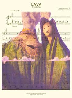 Aquí le damos una impresión de arte hoja de música de los volcanes Lava. ¡Esto es perfecto para cualquier fanático de los cortos de Pixar! Ser que nos deja saber que impresión prefiere: música 1) hoja de papel o página 2) Diccionario. Imprimirlo en papel fotográfico de calidad, que mide