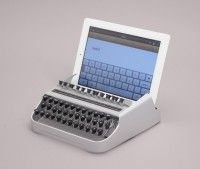 ipad typewriter - gift ideas for book lovers