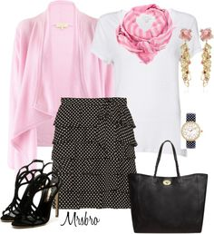 """""""I do like pink ..."""" by mrsbro ❤ liked on Polyvore"""