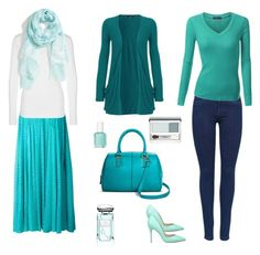 """""""Teal outfit"""" by kicsiyudesign on Polyvore featuring Charles David, Mossimo, Essie, By Terry, Clinique, Missoni, Doublju, WearAll, G-Star and Hinge"""