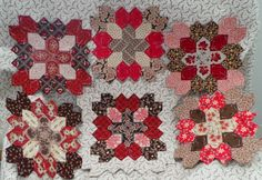 Lucy Boston blocks - Kindred Quilts