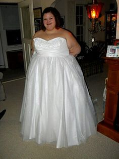 We offer custom #plussizeweddingdresses for brides of all sizes. Get pricing on #gowns at www.dariuscordell.com