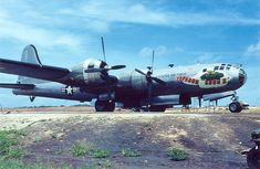 B-29 of the 514th Reconnaissance Squardon (VLR) Weather
