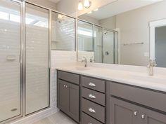 https://flic.kr/p/EgFdYW | Master Bathroom | Colors - Interior - Walls Agreeable Gray SW7029 Colors - Interior - Trim Extra White SW7006 Colors - Interior - Ceiling Ceiling Bright White SW7007 Cabinets - Master Bath - Level 2 Lancaster Maple - Standard Overlay - Graphite Cabinets - Master Bath - Hardware - Level 2 Bordeaux Knob - #3990 Knob - 3990 Chrome, Pull - 8236 Chrome Countertops - Master Bath - Cultured Marble - Level 2 Silver Streak #213 Countertops - Cultured Sink - Rectangular…