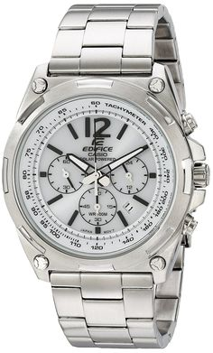 Casio Men's EFR-545BD-7BVCF Edifice Tough Solar Stainless Steel Watch *** For more information, visit image link.