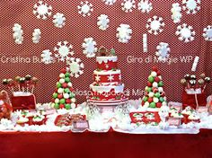 Il Goloso Mondo di Minu': Christmas Sweet Table