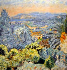 Pierre Bonnard - The Riviera, 1923 Phillips Collections Art Gallery Washington DC Pierre Bonnard, Paul Gauguin, Oil Painting Abstract, Painting & Drawing, Watercolor Artists, Painting Lessons, Watercolor Painting, Henri Matisse, French Artists