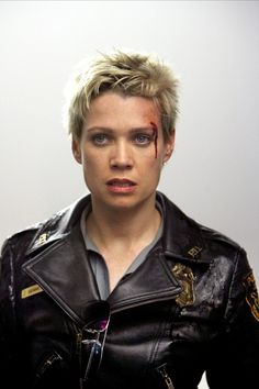 I loved Laurie Holden as Sybil Bennett in the first Silent Hill movie