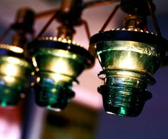 Now I know how to upcycle my antique glass electrical  globes