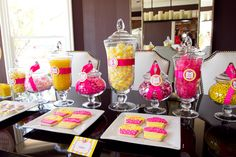 pink and yellow party