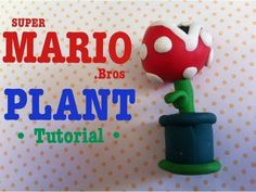 Clay Super Mario Piranha Plant Tutorial (◕‿◕✿)