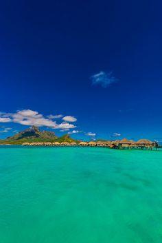 Overwater bungalows, Four Seasons Resort Bora Bora, French Polynesia ✯ ωнιмѕу ѕαη∂у