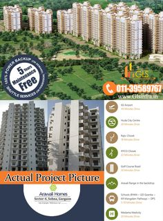 GLS Arawali Homes in Sector 4 Sohna South of Gurgaon. Project under Haryana Government Scheme Book your flat call Affordable Housing, For Everyone, 5 Years, Home Projects, Apartments, Golf Courses, Backdrops, How To Apply, Homes