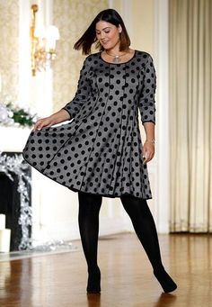 f1960fd4c92b1 Polka Dots, Please Fit And Flare, Flare Dress, Polka Dots, Polka Dot