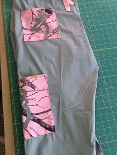 Pink and grey camo buckmark browning county girl redneck medical - dental- vet - scrub pants on Etsy, $30.00