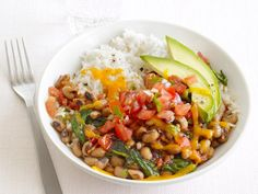 Tex-Mex Rice and Black-Eyed Peas Recipe : Food Network Kitchen : Food Network - FoodNetwork.com