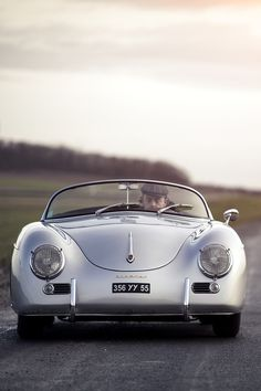Style, grace & power. This Porsche 356 Speedster was born a timeless classic. #myblendfavorites