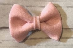 A personal favorite from my Etsy shop https://www.etsy.com/listing/562707563/light-pink-felt-bow-hair-clip