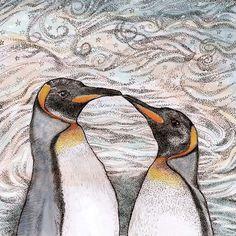 TW77 - Kissing Penguins