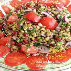 Maş Fasulyesi Salatası Tarifi - Afiyetli Sofralar - Yemek Tarifleri