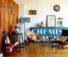 Melbourne-based stylist Heather Nette King's super-cool vintage abode