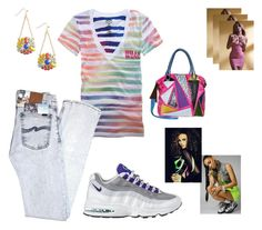 """""""......."""" by dorothymae ❤ liked on Polyvore featuring Billabong, NIKE and Kai"""