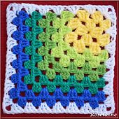 Ravelry: Modern Mitered Granny Square pattern by Sue Rivers - Free Crochet Pattern