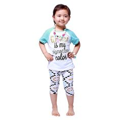 Kaiya Baby Girls Boutique Clothing Kids Clothes Summer Short Set Printed Outfits Boutique Girl Set Short Sleeve Suit New