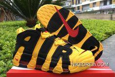 """Big Deals Bruce Lee Nike Air More Uptempo """"Kill Bill"""" Black Yellow 0d6c4a703"""