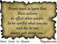 Becareful what u say.