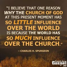 The one reason why the Church of God ...