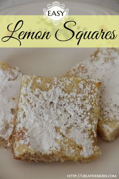 Easy to make, inexpensive, and delicious lemon squares! This recipe has been handed down from at least my great-grandma!