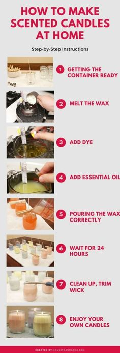 Diy Candles Easy, Buy Candles, Diy Candles Recipe, Soy Candle Making, Making Candles, Candle Making At Home, Candle Making Supplies, Homemade Scented Candles, How To Make Scented Candles At Home