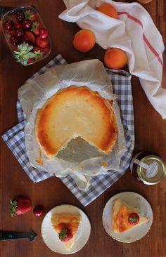 Tarta de queso rustica