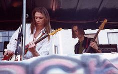Chris Whitley and Alan Geveart by Dina Regine, via Flickr