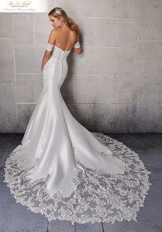 Mori Lee Wedding Dress, V Neck Wedding Dress, Luxury Wedding Dress, Bridal Wedding Dresses, Wedding Dress Styles, Bridesmaid Dresses, Wedding Dressses, Bridesmaids, Dream Wedding