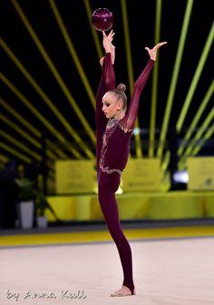 Olena DIACHENKO (Ukraine) ~ Ball @ Deriugina Cup - Grand Prix @ Kiev 17/03/'17   Anna Kull.