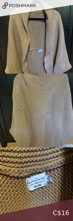 BNWT NA-KD Knit Shawl/Cardigan New. No flaws. Fits anything between M-L NA-KD Sweaters Cardigans Shawl Cardigan, Cardigans, Sweaters, Knitted Shawls, Flaws, Knitting, Best Deals, Fitness, Closet