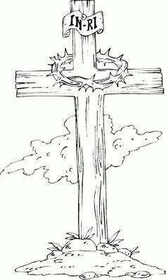 Wooden Cross DrawingsKidsfreecoloring.Net | Free Download Kids Coloring Printable