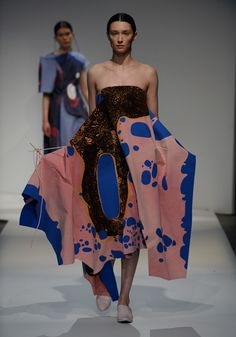 London College of Fashion BA 2015 – Catherine Wang and Camila Lopes