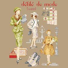 «Le défilé de mode 2 » les brodeuses parisiennes