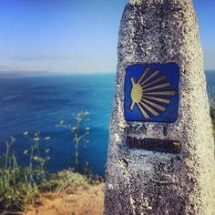 Faro de Fisterra en Finisterra, Galicia
